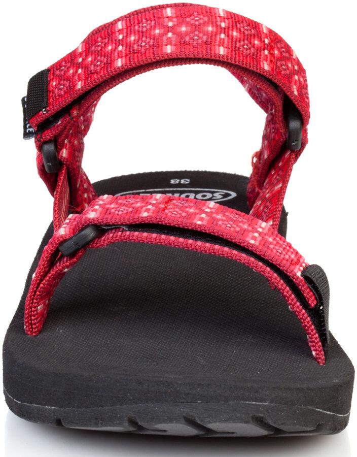 SOURCE Classic Sandals Damen tribal red